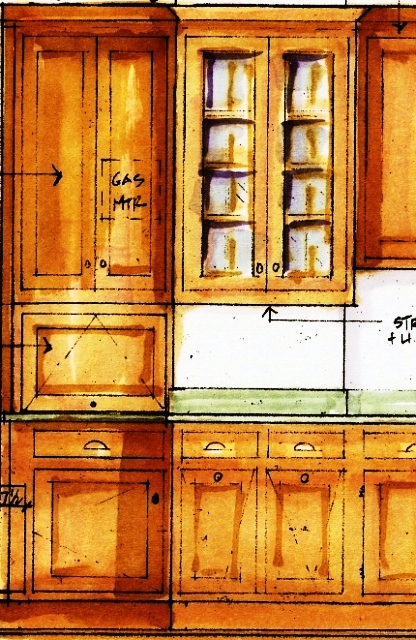 Sink Elev sketch