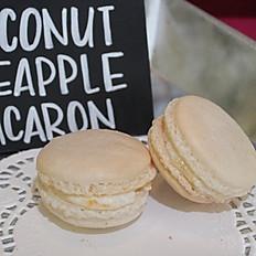 Coconut Pineapple Macarons