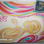 Anaya Seepul in pinks and creamy brights