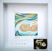 Baby Cormac Small Framed and Mounted in