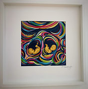 Twins - Large Framed and Mounted .jpg
