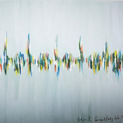 Joseph's Heartbeat in pastel blue