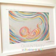 Baby Sanae Ocean in Greys and pastels Me