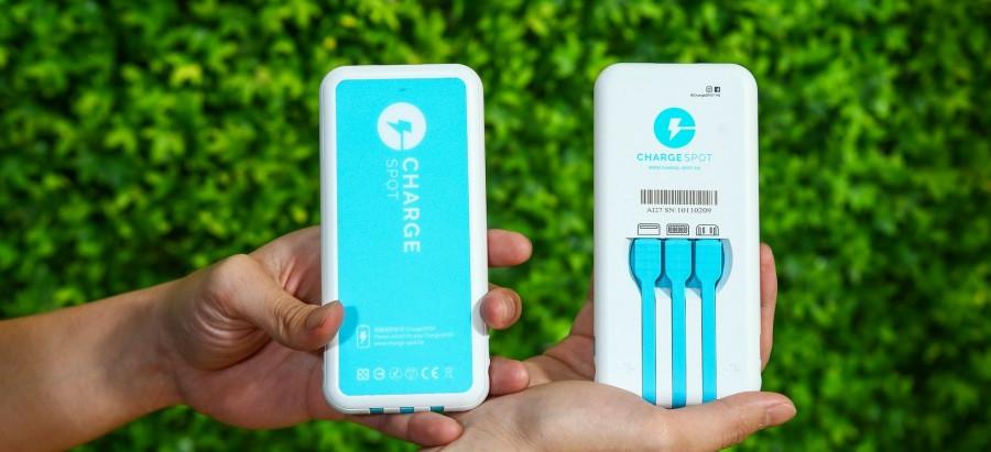 創新實驗室團隊 共享行動電源ChargeSPOT 獲得日企領投6000萬