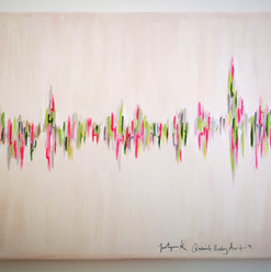 Charlotte's Heartbeat painting
