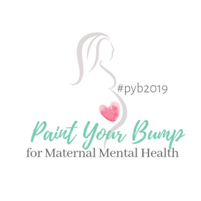 Paint Your Bump for Maternal Mental Health Awareness #pyb2019
