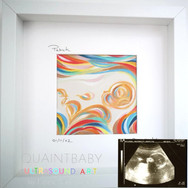Baby Patrick in Reds Small Framed Mounte
