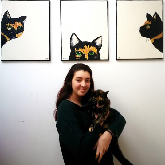 Paula & Layla the Cat