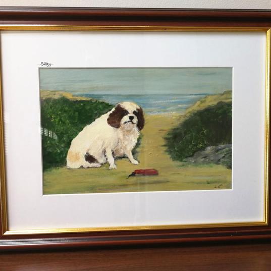 Silky the Kind Charles Spaniel by Brittas Bay Ireland