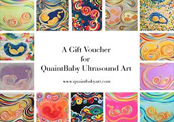 Gift Voucher for QuaintBaby Ultrasound A