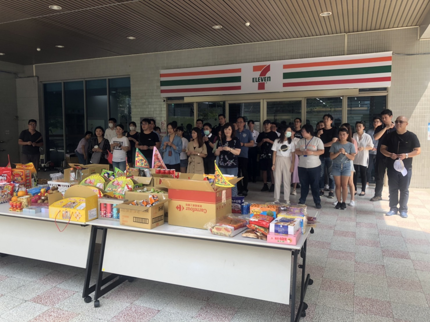 0902 臺北創新實驗室進駐團隊齊聚普渡拜拜