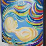 Baby Due in June inspired by Sea with hi