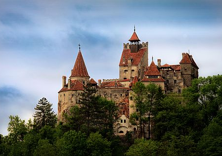 Dracula and the Bran Castle