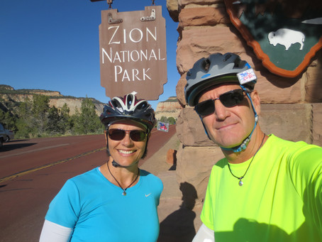 Zion National Park, Ut. to Mesa, Az. - May 2018