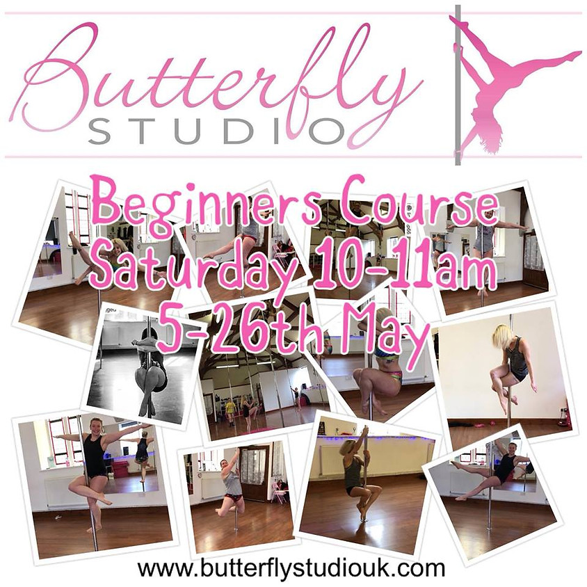 Beginners Pole Fitness 4 Week Course - May
