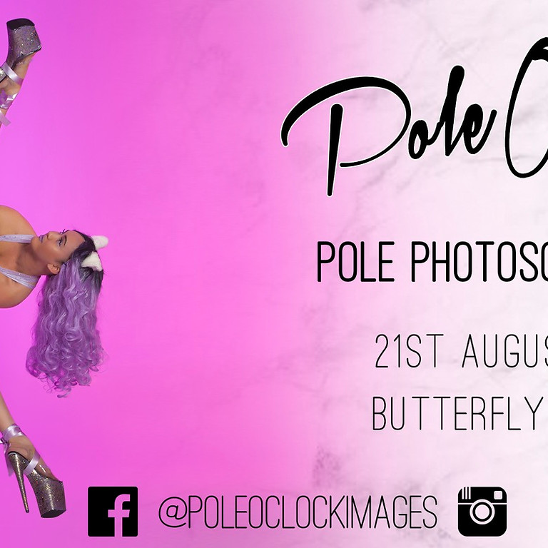 PoleOclock Images - Pole Photoshoot at Butterfly Studio