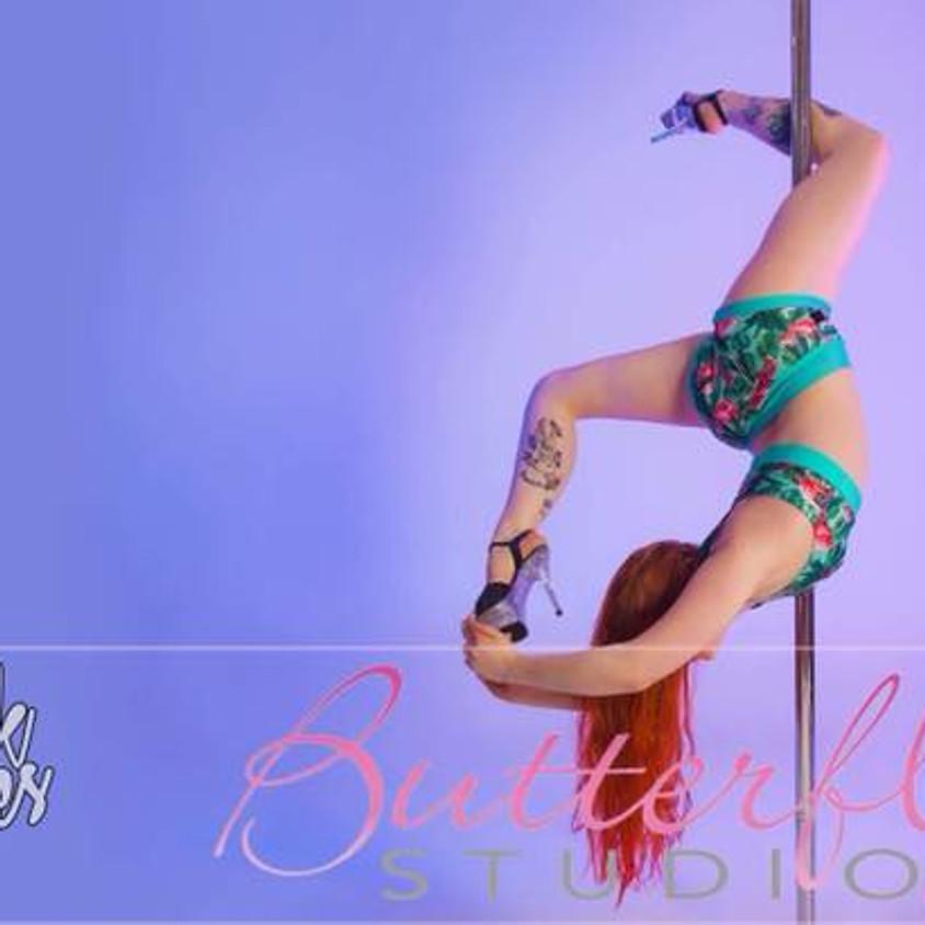 PoleOclock Images Photoshoot @ Butterfly Studio