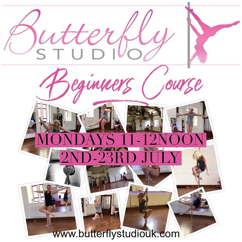 Beginners Pole Fitness 4 Week Course - July - Mondays