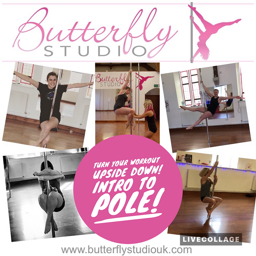 Intro to Pole Class - Complete Beginners Only - Tuesday 8/1 1pm