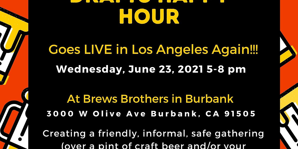 LIVE, IN PERSON - Death Over Drafts Happy Hour