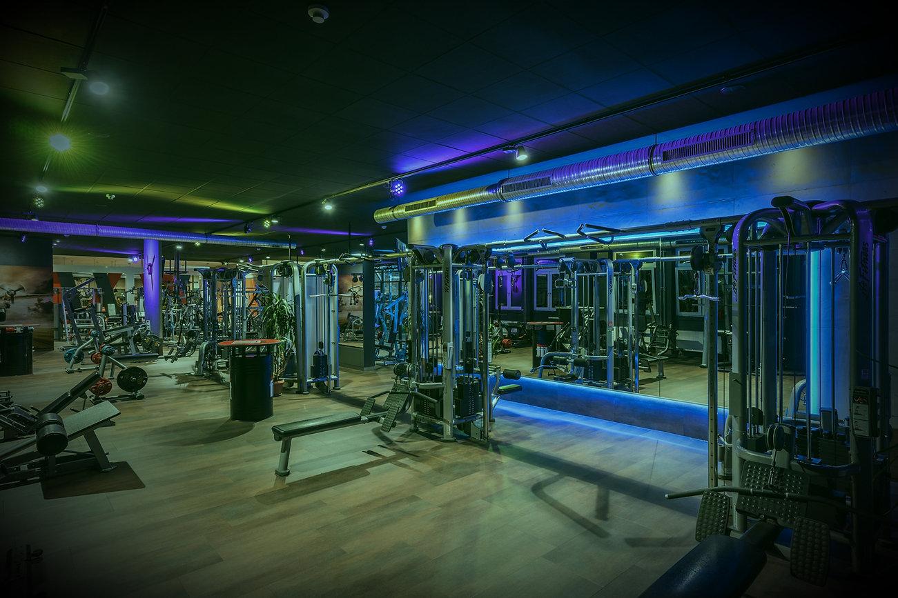Einblick in Fitnessstudio