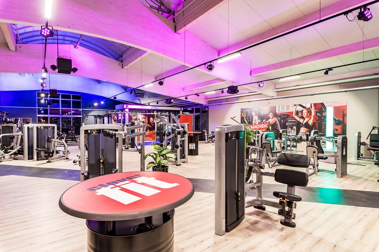 Blick in Welzheimer Fitnessstudio