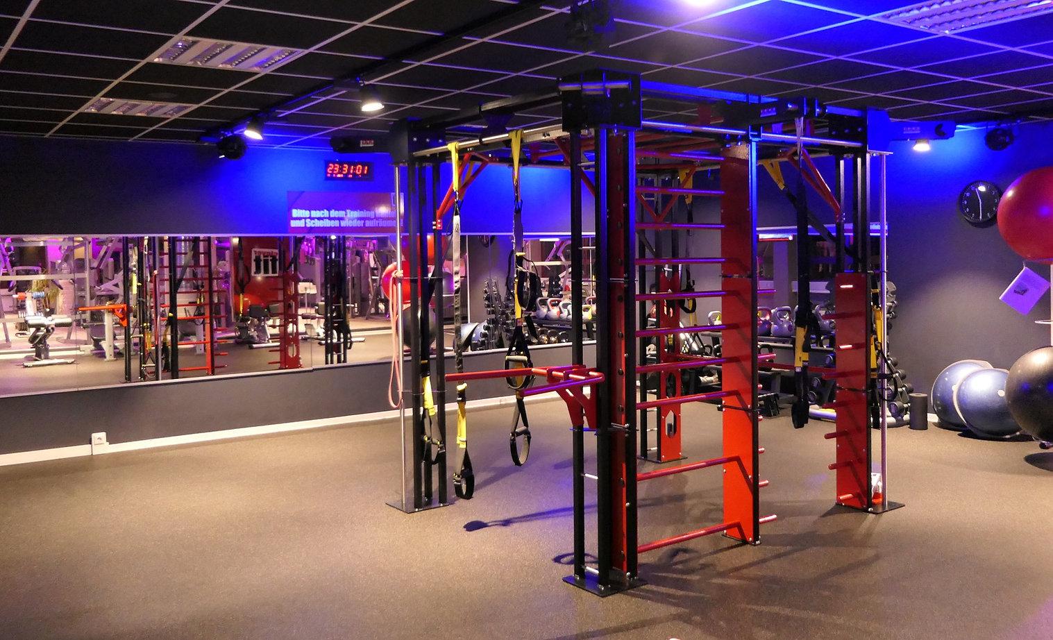Blick ins Fitnessstudio