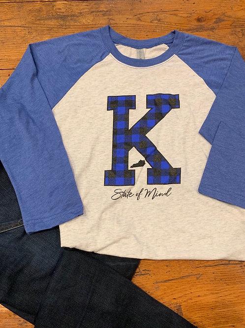 Buffalo Plaid Print Kentucky Shirt