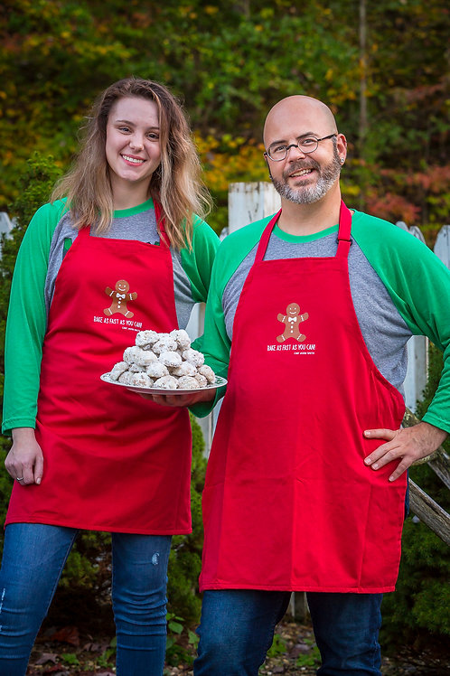 Chef Jason Smith Gingerbread Man Apron