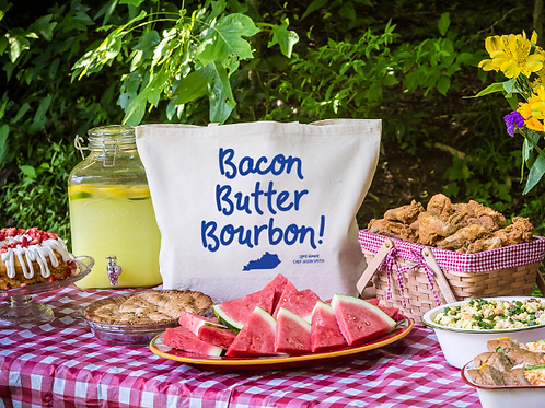 Bacon, Butter, Bourbon Tote