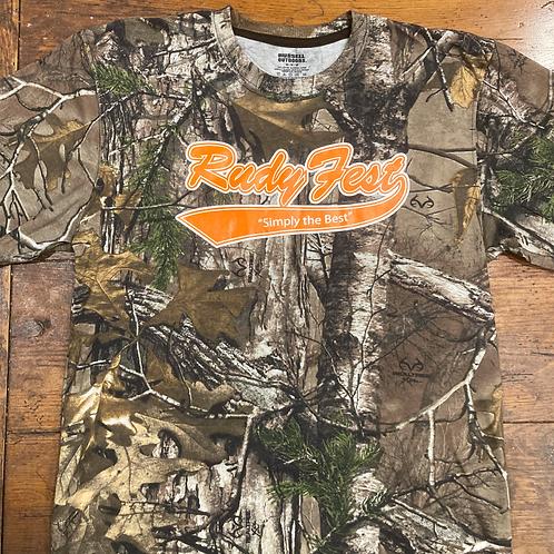 Rudy Fest Camo Logo Shirt