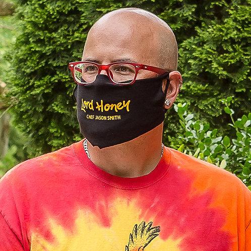 Chef Jason Smith Black Face Cover