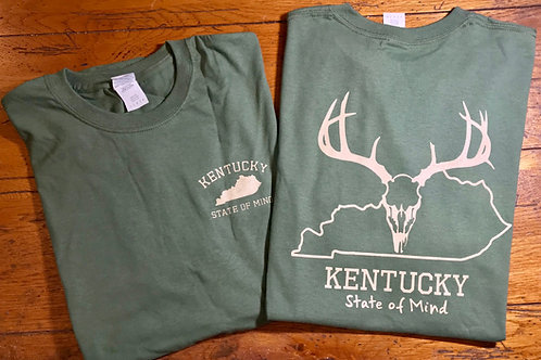 Kentucky Deer Skull Shirt