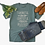 Fall Shirt Thankful Grateful Blessed Kentucky Feather Tee Two