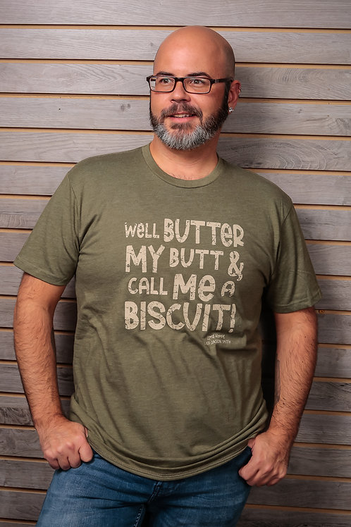 Chef Jason Smith Well Butter My Butt Shirt