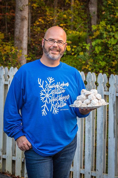 Snowflakes Fallin' Holidays Callin' Shirt