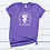 Kentucky Chick Plenty of Sass Purple T-shirt