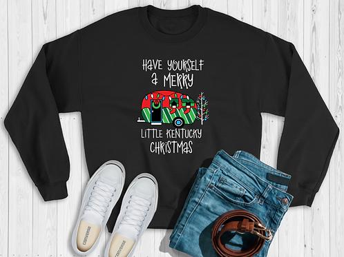Kentucky Christmas Shirts Christmas Camper Shirt