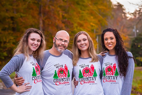 Chef Jason Smith Merry Country Christmas Shirt