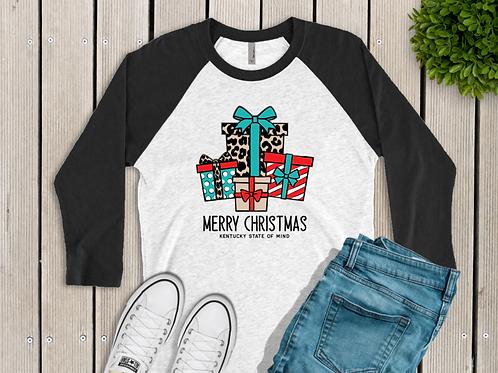 Kentucky Christmas Shirts Christmas Packages Shirt