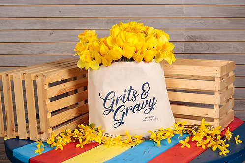 Chef Jason Smith Grits and Gravy Tote Bag