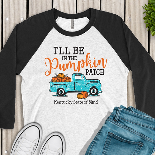 Fall Shirt Old Vintage Truck Pumpkin Patch Tee One