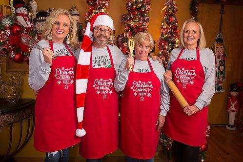 Chef Jason Smith Apron Christmas Baking Team