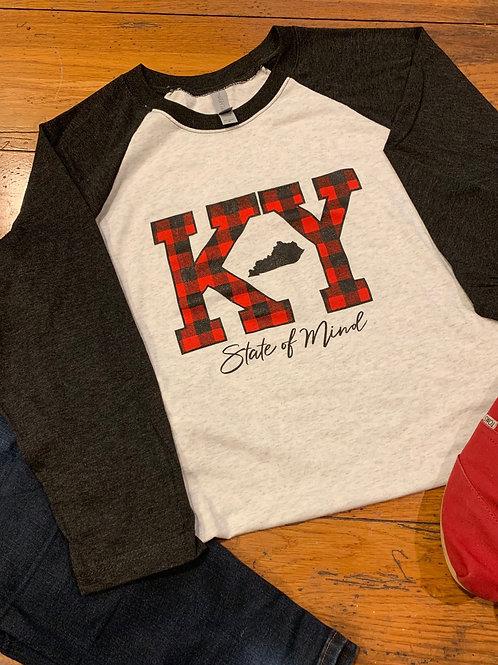 Buffalo Plaid Kentucky KY Shirt