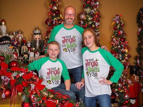 Chef Jason Smith Christmas Shirt Kids Size Jingle Bells
