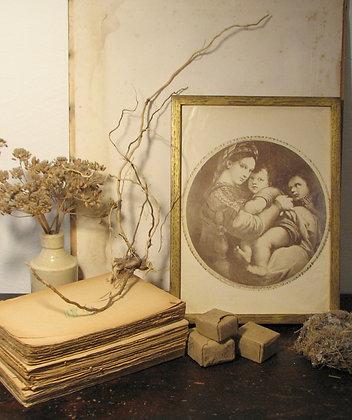 Gilded Oak Frame