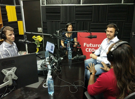 Roy Chats to Future-CEO's. Listen to the Interview Here.