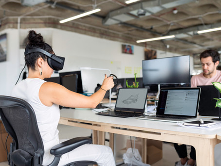 Who needs an office when you've got virtual reality?