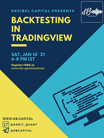 Backtesting in TradingView - Webinar Pos
