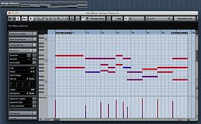 Cubase Piano Roll MIDI